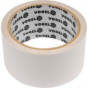Juosta dvipusio lipnumo balta PP 50 mm*25 m 75247 Vorel (9/36)