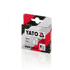 Kabės susegėjui 53/8 mm (0.7*11.2) 1000 vnt. YT-7052 YATO