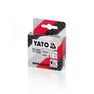 Kabės susegėjui 140/10 mm (1.2*10.6) 1000 vnt. YT-7024 YATO