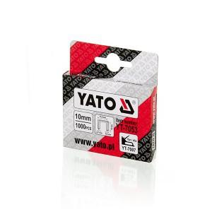 Kabės susegėjui 53/10 mm (0.7*11.2) 1000 vnt. YT-7053 YATO