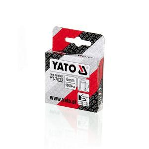 Kabės susegėjui 140/6 mm (1.2*10.6) 1000 vnt. YT-7022 YATO