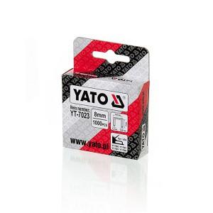 Kabės susegėjui 140/8 mm (1.2*10.6) 1000 vnt. YT-7023 YATO