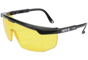 Akiniai apsauginiai geltoni CE YT-7362 YATO
