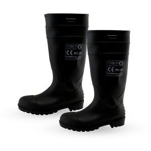 Batai apsauginiai ilgaauliai iš PVC H 38 cm 45 dydis ART.105 S5