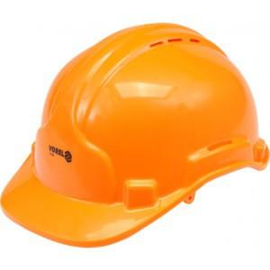 Каска защитная - оранжевая
