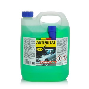 Coolant Antifreeze -35*C  (ECONOMY LINE)  5 kg  (green)