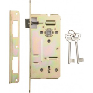 MORTISE LOCK FOR KEYED CYLINDER WITH LAT