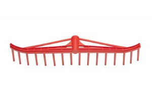 PLASTIC RAKE WITH 18 TEETH